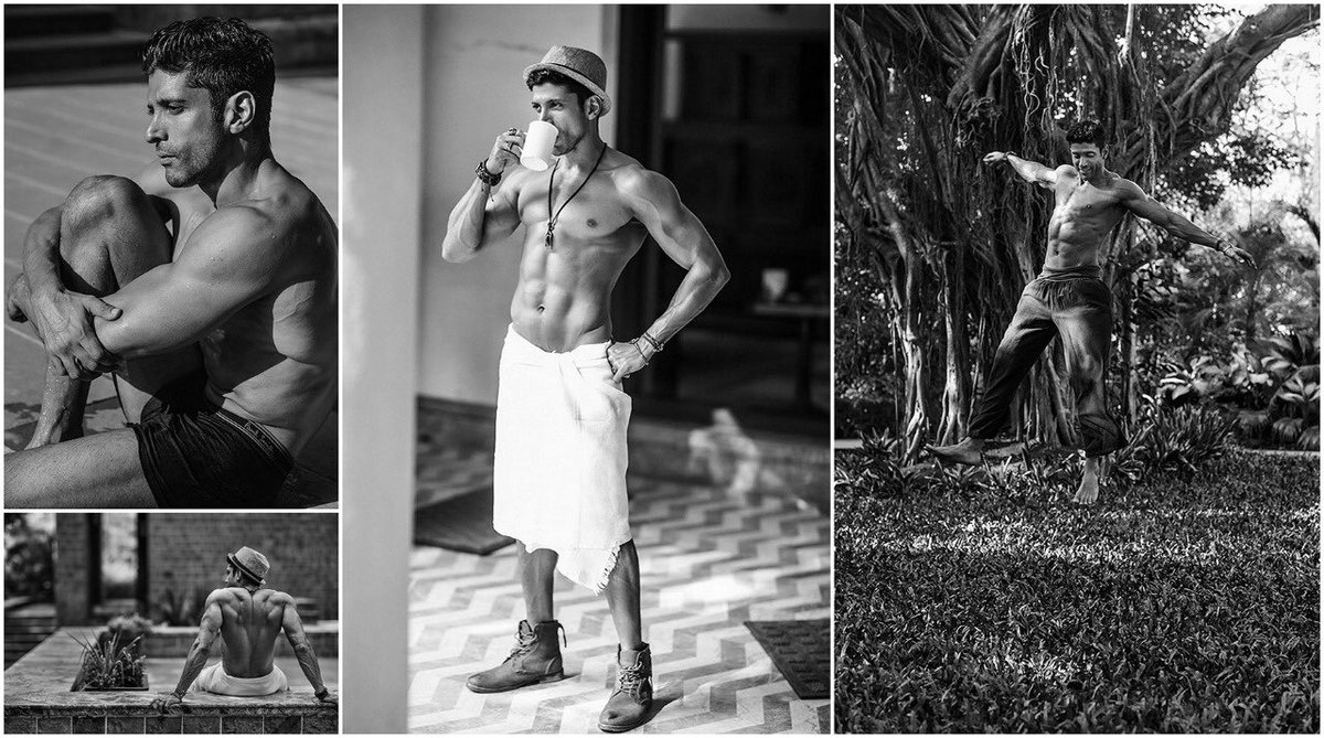 FARHAN Akhtar x HT Brunch Circa. 17th September, 2017 .   A sneak peek into this shoot featuring Farhan Akthar, shot by - Errikos Andreou #farhanakhtar #FitnessGoals #Bollywoodstyle #Bollywood   Check more @ https://bit.ly/30ELLal pic.twitter.com/I4h4aszxV3