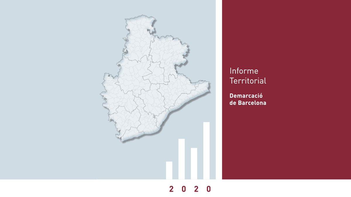 Segueix l'etiqueta #InformeTerritorial20 i coneix la realitat econòmica de la demarcació de Barcelona.  A partir de dilluns, cada dia us destacarem una dada de #AltPenedès #Anoia #BaixLlobregat #Bages #Barcelonès #Berguedà #Garraf #Maresme #Moianès #Osona #VOriental #VOccidental https://t.co/2knKg4Dv9i