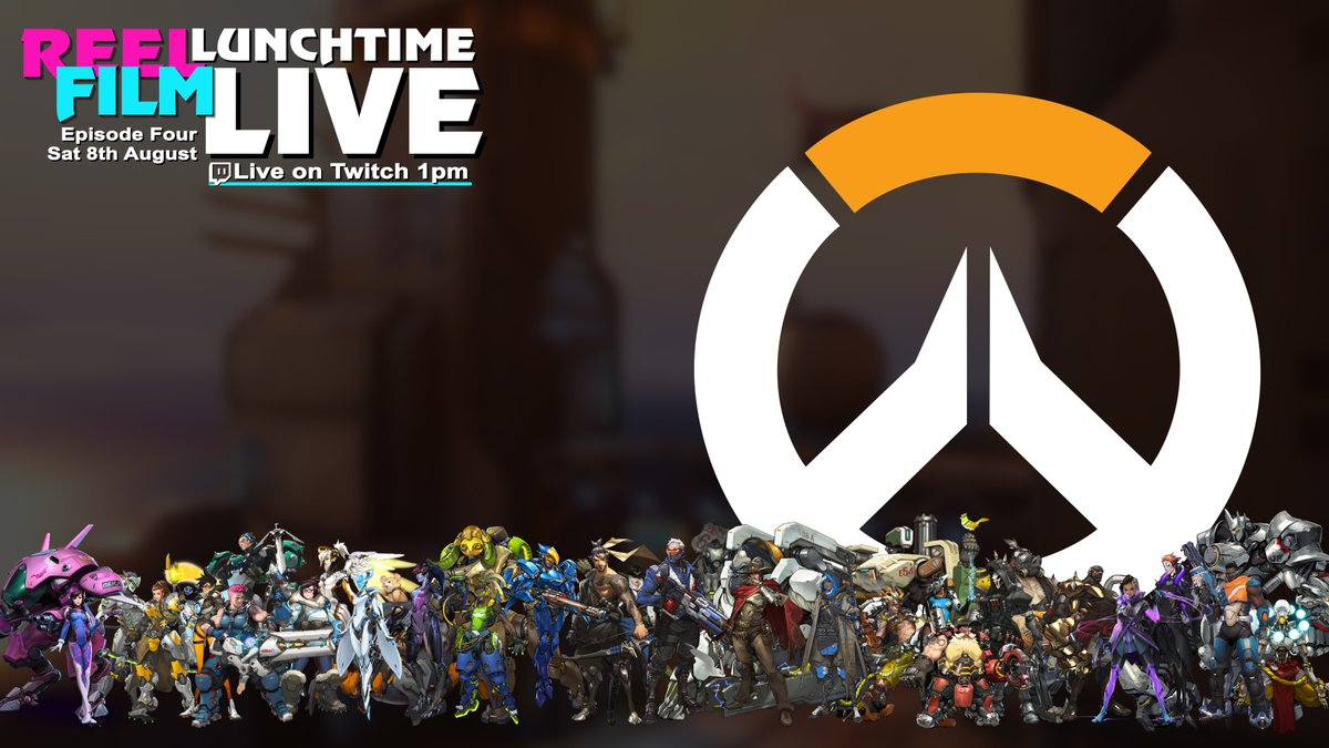 Another little surprise stream for you all!   @MattInTheJar Matt will be back at 1pm playing some of the Overwatch Arcade, come and join us LIVE on Twitch.  http://www.twitch.tv/reelfilm  #TwitchStream #TwitchStreamer #TwitchStreaming #Twitch #Overwatch #PlayOverwatch #Gaming #Gamerspic.twitter.com/BSRNr9zaJ2