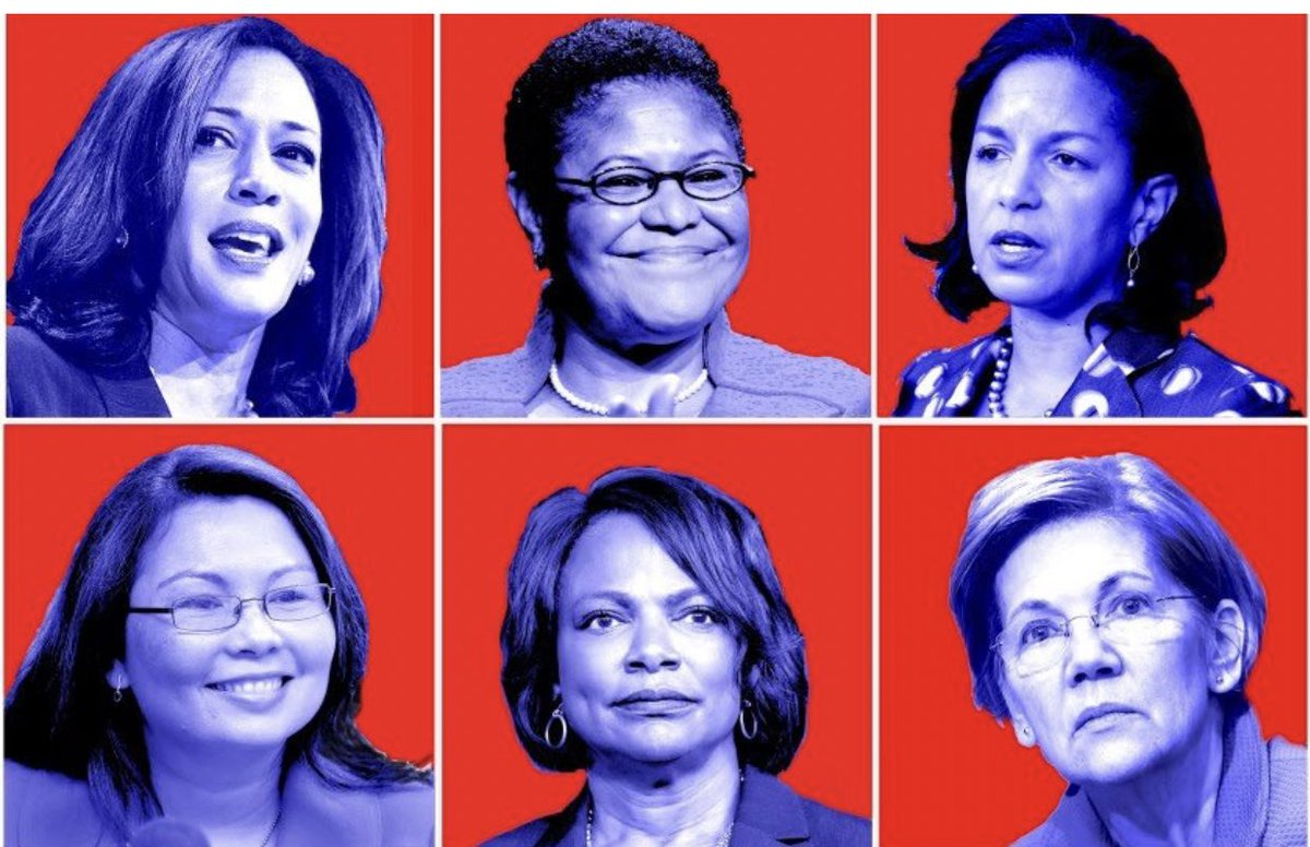 @JoeBiden *Kamala Harris*Karen Bass*Susan Rice*Elizabeth Warren Val Demings*Tammy Duckworth. #listen if you want my vote, you better pick one of these amazing humans as a running mate! @JoeBiden Don't pick a creepy stepford wife! We need more diversity in our government! #change https://t.co/ba8ApkPgl0