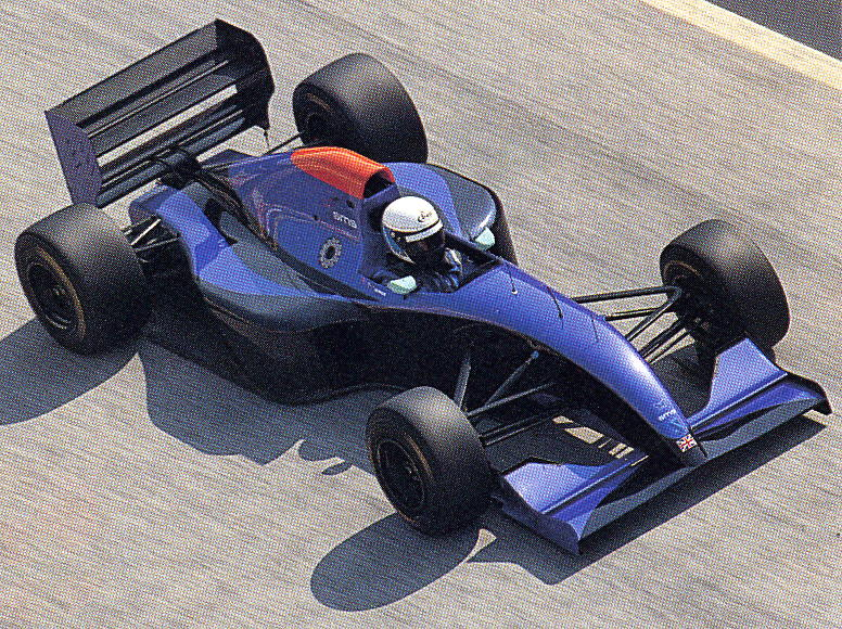 @brabsracer pre-season testing with perhaps one of the smoothest looking F1 cars ever build, the Simtek S941 (Later S951, previous Bravo S931, Andrea Moda C921, BMW 192).  #Formula1 #Formule1 #F1 #Simtek #RetroF1 @SimtekF1 https://t.co/wdgmaDeANa