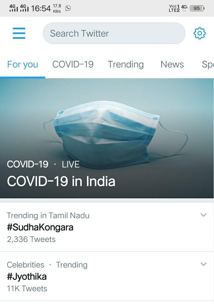 See Who's Trending On There#Jyothika #SudhaKongara #SooraraiPottru @Suriya_offlpic.twitter.com/I7d4tVwdLV