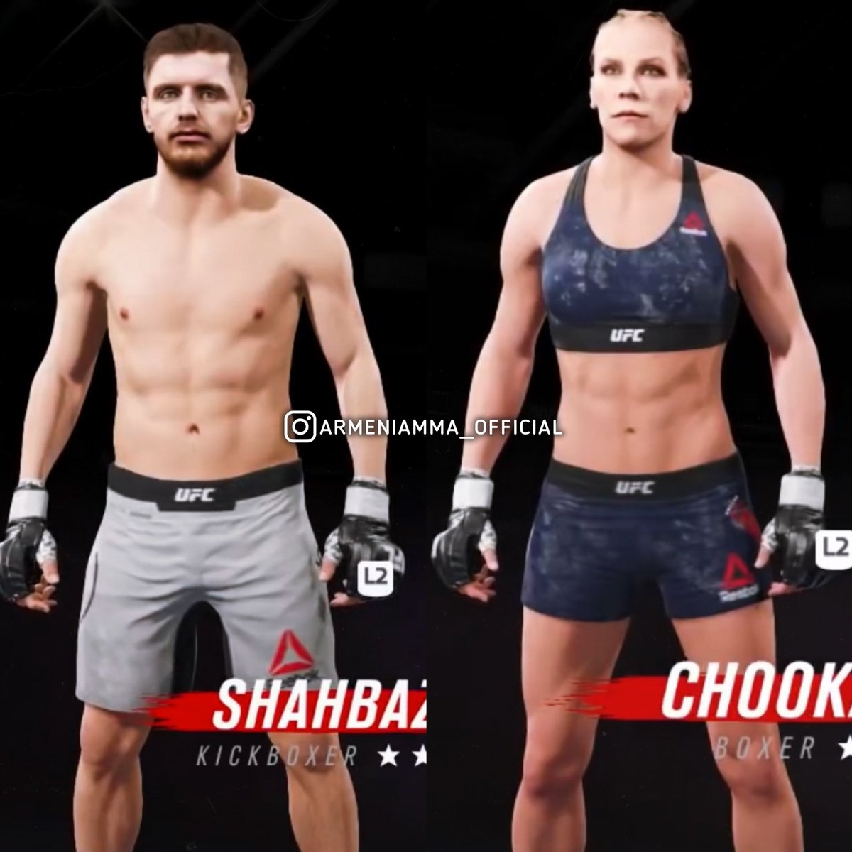 Officially: @EdmenShahbazyan and @blondefighter will be in the new UFC 4. They are the only Armenian fighters in the game. It should be noted that the game will be released on August, 14th https://t.co/BRFhlpwnXB