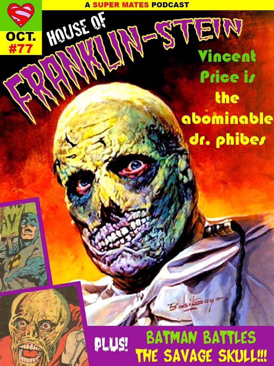 Dr. PHIBES (VINCENT PRICE) #horror #illustration by BASIL GOGOS … #cover pic.twitter.com/EmDmuVHZBC