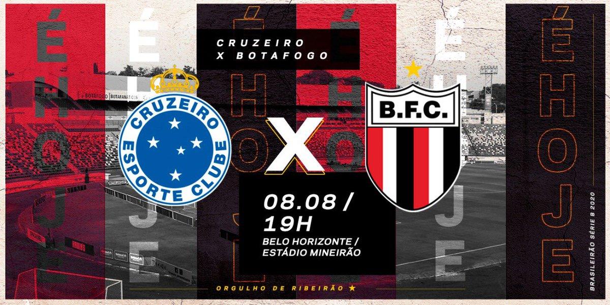 Botafogo Futebol S A De On Twitter E Hoje Nacao As 19h No Estadio Do Mineirao O Tricolor Entra Em Campo Para Enfrentar O Cruzeiro Jogo Valido Pela Estreia Na Serie B