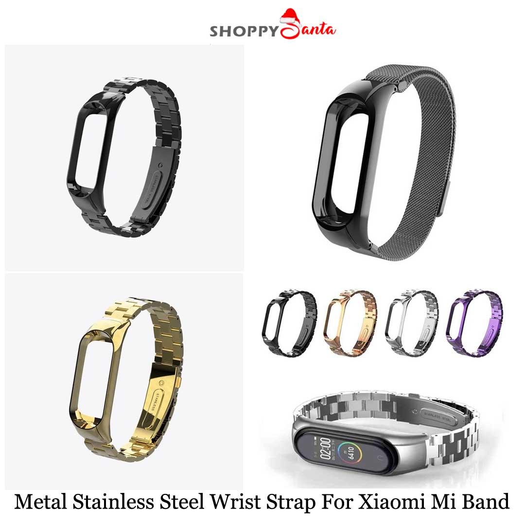 50% Off @ShoppySanta Hotdeals Section! Metal Stainless Steel Wrist Strap For Xiaomi Mi Band 4. Free Shipping Available! Visit: http://Shoppysanta.com  Product Link: https://bit.ly/2F1HiGp  #wriststrap #steelwristband #MIband #xiaomi #wristband #shoppysantapic.twitter.com/GWiokbbLWK