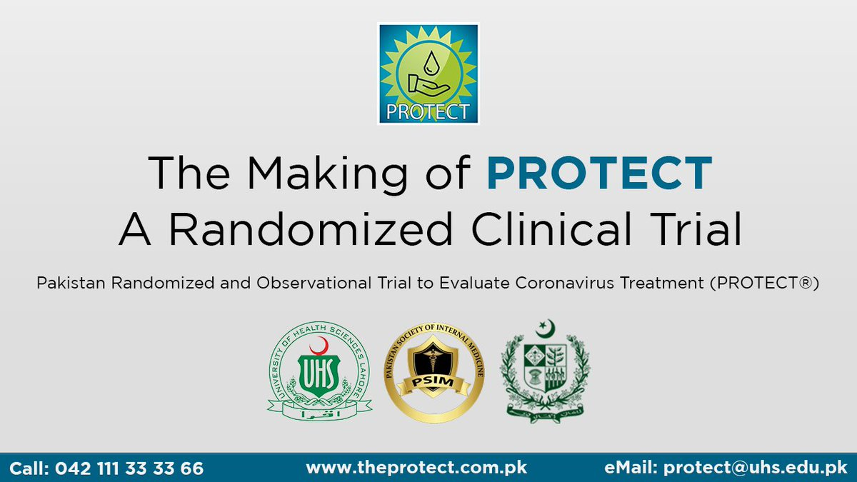 The Making of PROTECT: A Randomized Clinical Trial Watch: youtu.be/37MZRuHsq24 #uhs #PROTECT