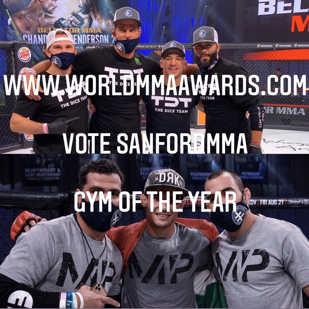 Vote SanfordMMA as Gym of the Year!  @WorldMMAAwards @henrihooft @CoachGJones @ssorianoMMA #sanfordmma #ufc #bellator #one #MMA #MMATwitter https://t.co/aPoeMyqQGZ