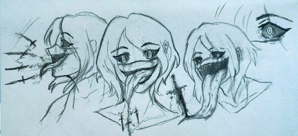 I had this idea and well. . . .  #anime #SmallArtistClub #artist #artwork #traditionalart  #creative #DigitalArtist #sketch #doodleart #smallartistsonly #opencommission #NobodyArtistClub #art #under500gang #under1kgangpic.twitter.com/1xjx9upuRX