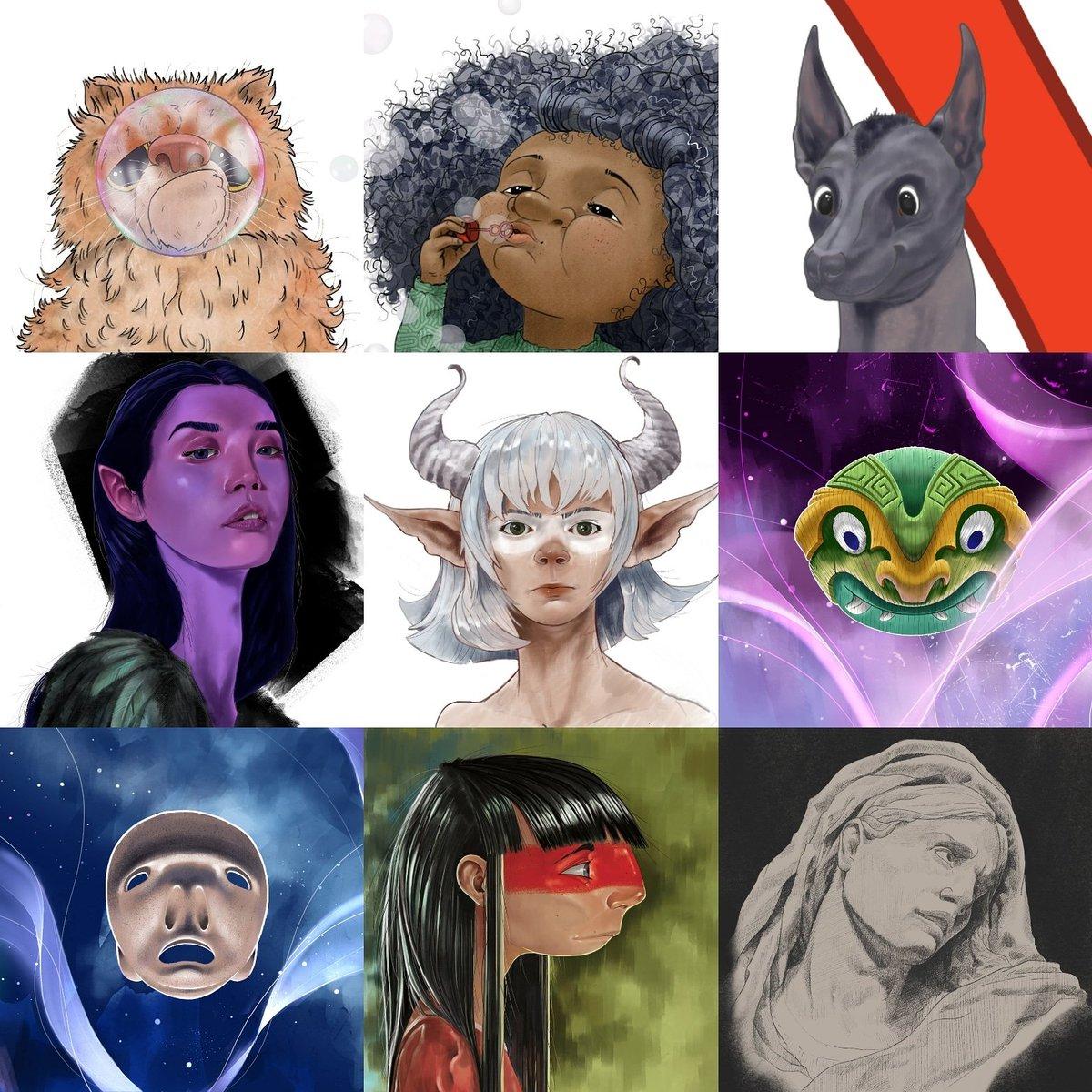 Nine Faces  #faceyourart #illustration #illustrationartists #illustrator #digitalartwork #digitaldrawing #digitalart #digitalartist #painting #characterdesign #character #childrensbookillustration #childrensillustration #childrensbooks #instaartist #instartpic.twitter.com/DERVdWxAO0
