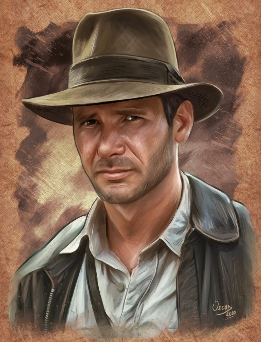 My Indiana Jones after a little check. #indianajones #fanart #alternativemovieposter #posterdesing #harrisonford #digitalart #portrait #digitalart #ipadpropic.twitter.com/okYYbq6vBS
