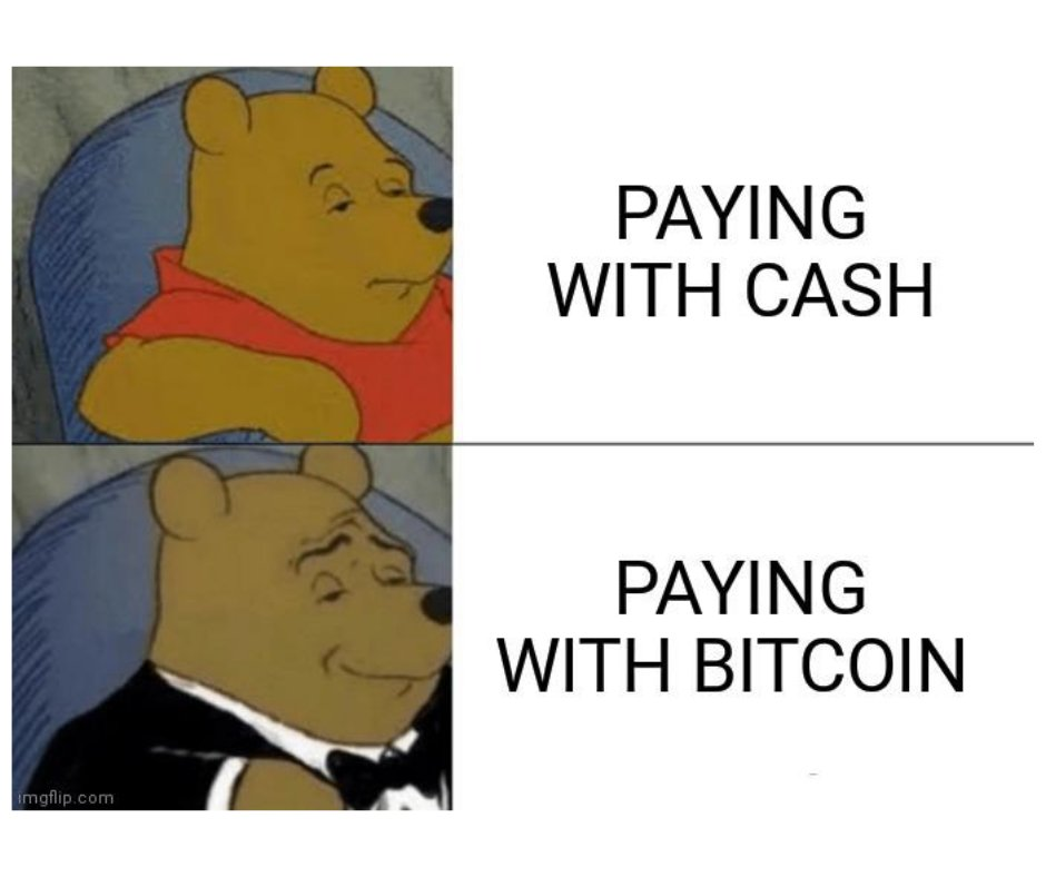 Only for the sophisticated. #bitcoin #cryptocurrency #cryptomemes pic.twitter.com/BvcUxJ4OjC
