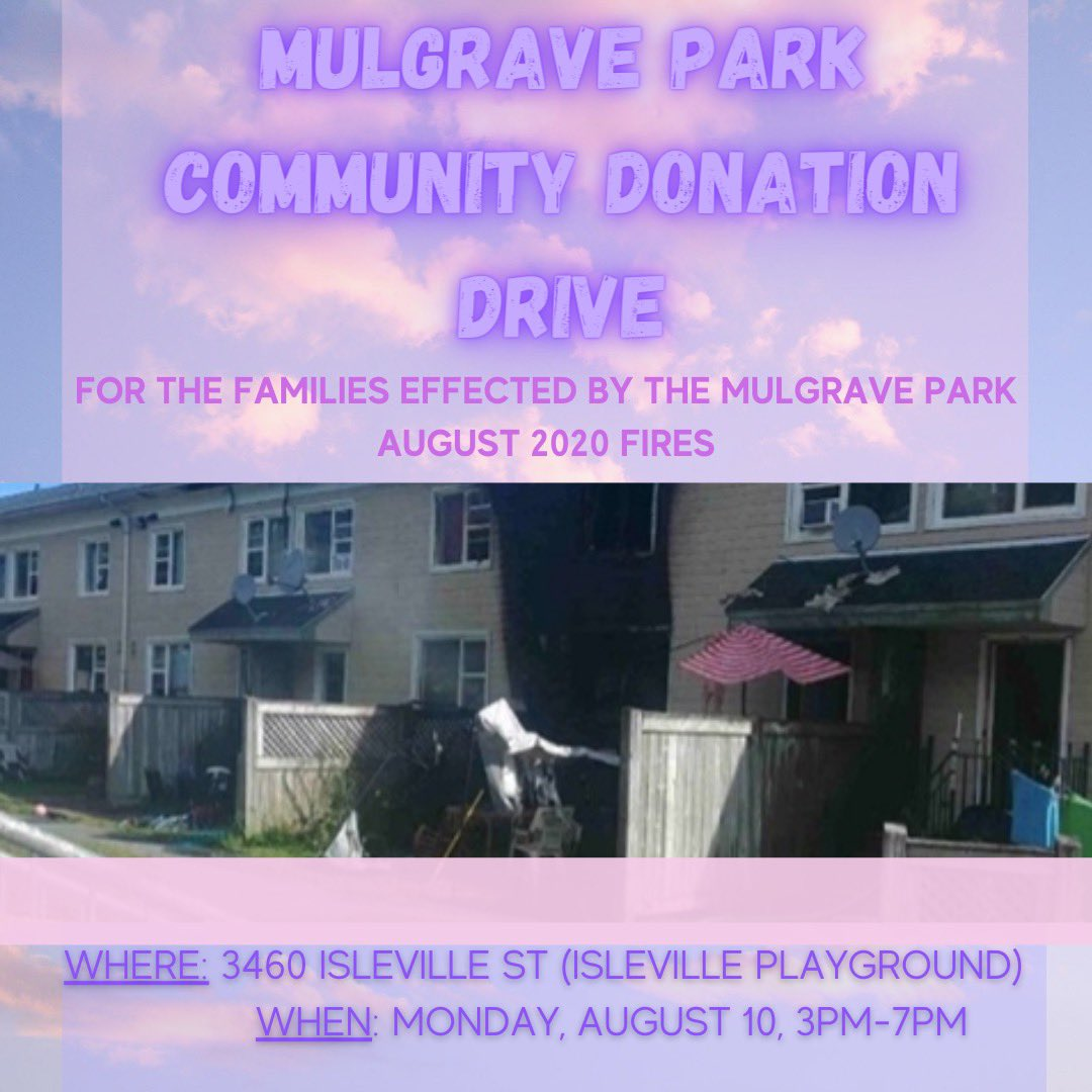 We have been supported by amazing people in the Mulgrave Park community. Show them we will walk this tragedy with them. Please read the poster and follow the guidelines. SWIPE LEFT for second photo and please share. RETWEET. Thank you ❤️ https://t.co/8kc0Bp6d2q