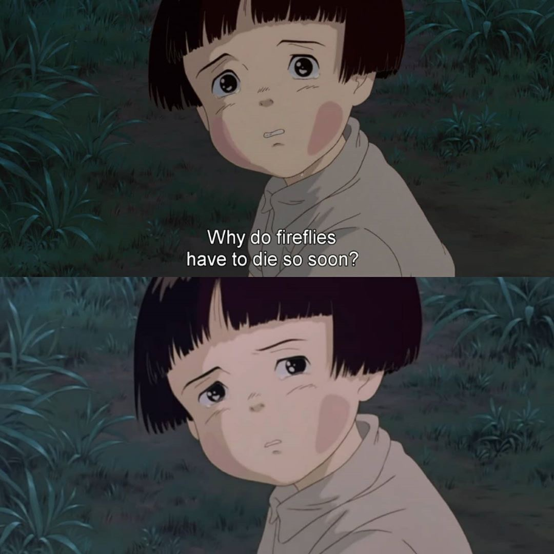 """""""An absolutely heartbreaking Japanese anime of 2 children  as they attempt to survive the bombings on Japan in the last year of WWII.   If you aren't moved by these characters, you really need to check your pulse. 10/10"""" - Leo  #GraveOfTheFireFlies #FilmReview #StudioGhibli pic.twitter.com/dWvJV7OPEm"""