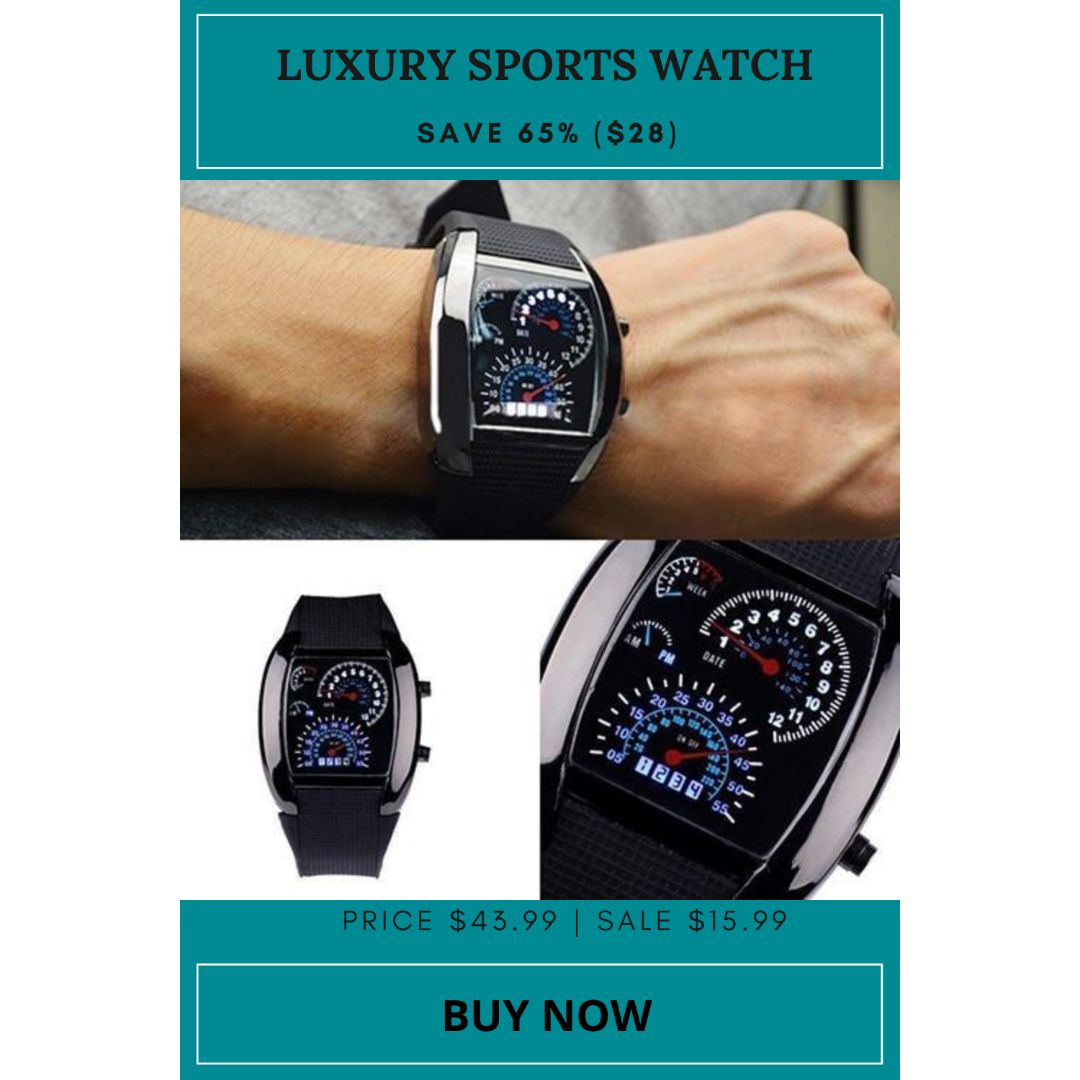 Luxury Sports LED Digital Display Watch What are you waiting for Benefits: ✓Fast Free Shipping ✓Free Returns ✓Full Refund Back Guarantee Buy Now: http://ow.ly/5EQa50ASHlQ  #boyswatch #sparklingsales #watchtrends #digitalwatch #watches #girlswatchpic.twitter.com/hvET3FMlyP