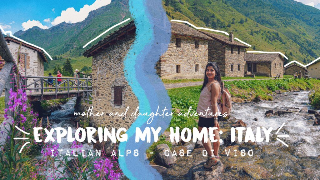 At 3p.m. (Italian time) new video   I hope this will make you smile at least a bit   Come TRAVEL ITALY WITH ME | Exploring: Case di Viso | Mother & Daughter Adventures || HeyMelani http://youtu.be/se-GE7nfbCg  #vlog #Italia #YouTube #motherdaughter #adventuretimepic.twitter.com/PaUM9OL4Ql