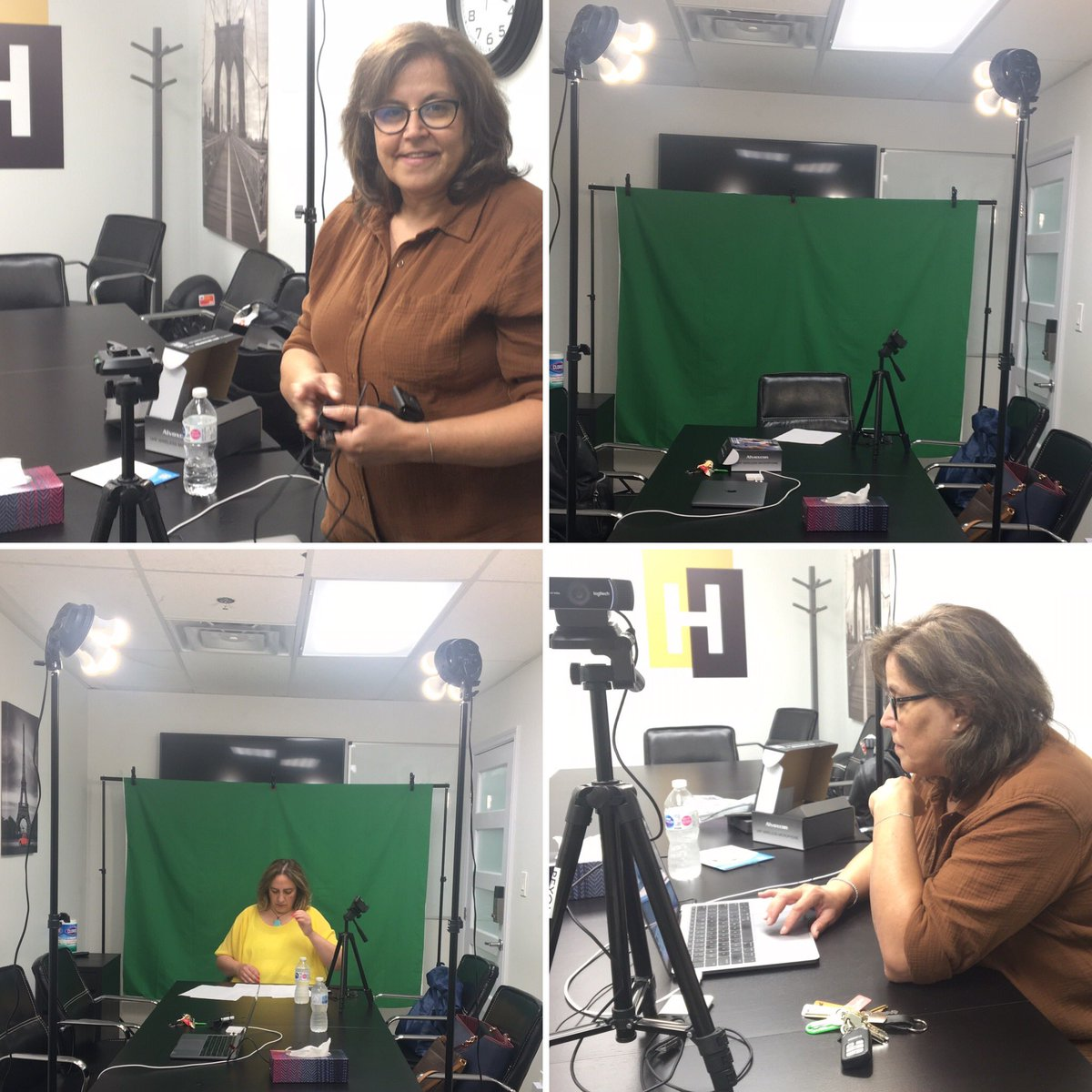 Recording at #HUDDLESPACE. Book our #boardroom for live-streaming your #events. pic.twitter.com/eXK1ytqVaX