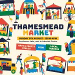 Image for the Tweet beginning: The first Thamesmead Market will
