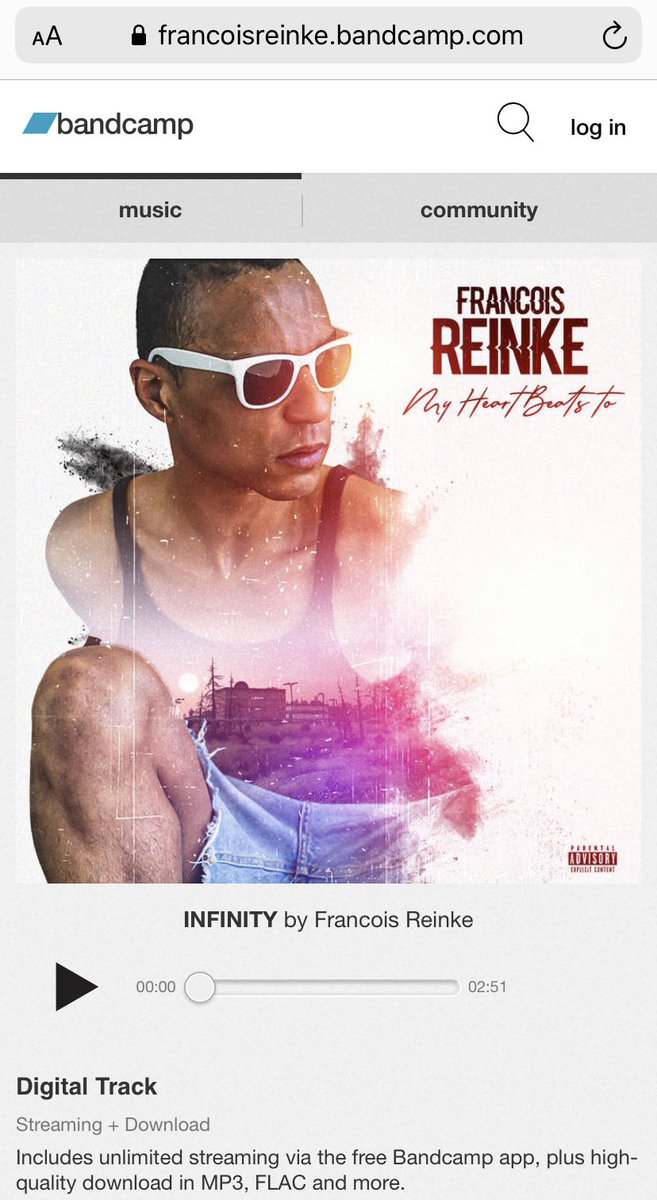 Are u @Bandcamp follow my channel @FrancoisReinke #BandcampFriday #BandcampDay #rapper #singer #singer #music #musicans #follow #LikeForLikes #lockdown #playtime #play #artistsontwitter #hiphop #bars #like #followme #francoisreinke #musicindustry #musicmanager #TwitchStreamerspic.twitter.com/8Y8obIUgka