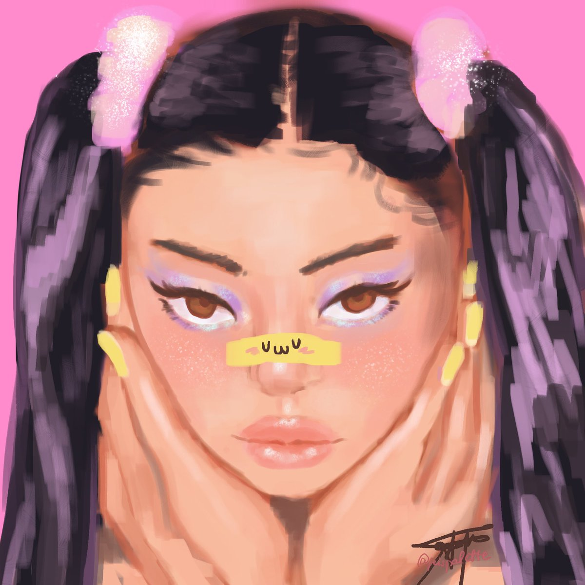 quick portrait study cuz i love procrastinating <3   by quick i mean 2 hrs is pretty quick  #artph #artistsontwitter pic.twitter.com/bo8Sqdcl8U