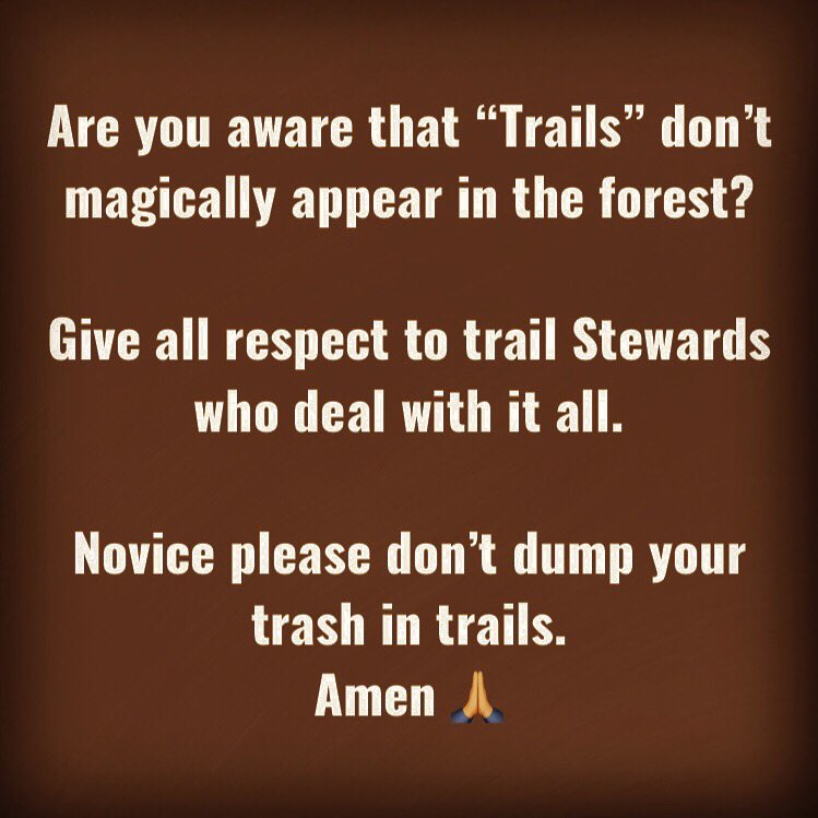 "This is applicable to the ""#Hikers/#Walkers"" as well. When you are out please take care of the nature.. pic.twitter.com/I7YSmd3eY8"
