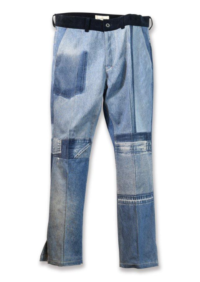 嵐にしやがれ 8/8放送相葉雅紀くん 着用衣装 デニムパンツ隠れ家ARASHIで褒めちぎられる相葉ちゃん。でも本当に上手でしたよね。相葉ちゃんが履いていたパッチワークになったリメイクデニムパンツ。#相葉雅紀 #嵐にしやがれ #嵐 #ARASHI