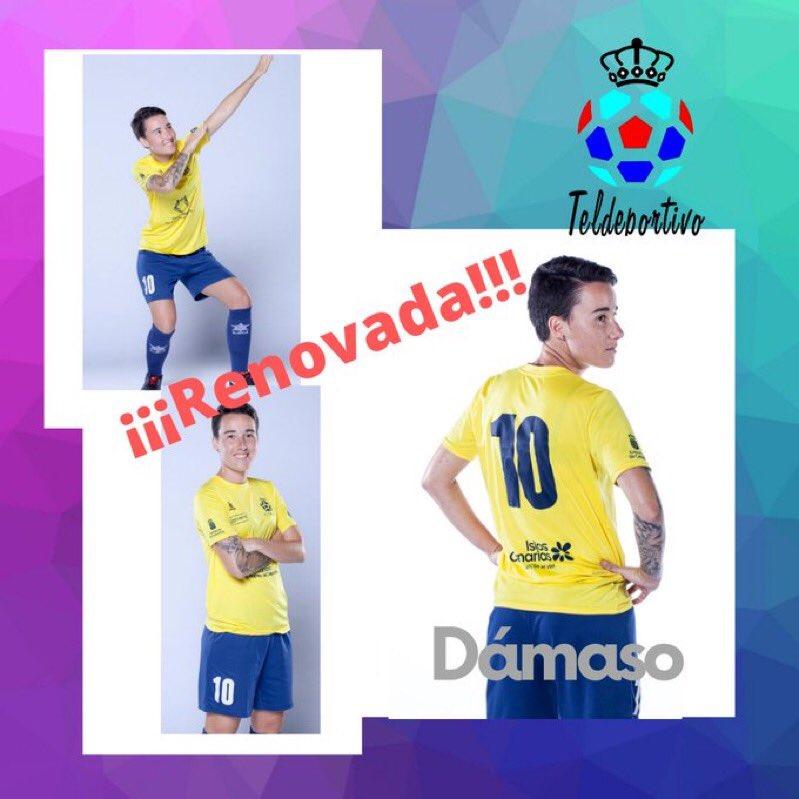 Judit Dámaso jugará con el Teldeportivo en Primera División