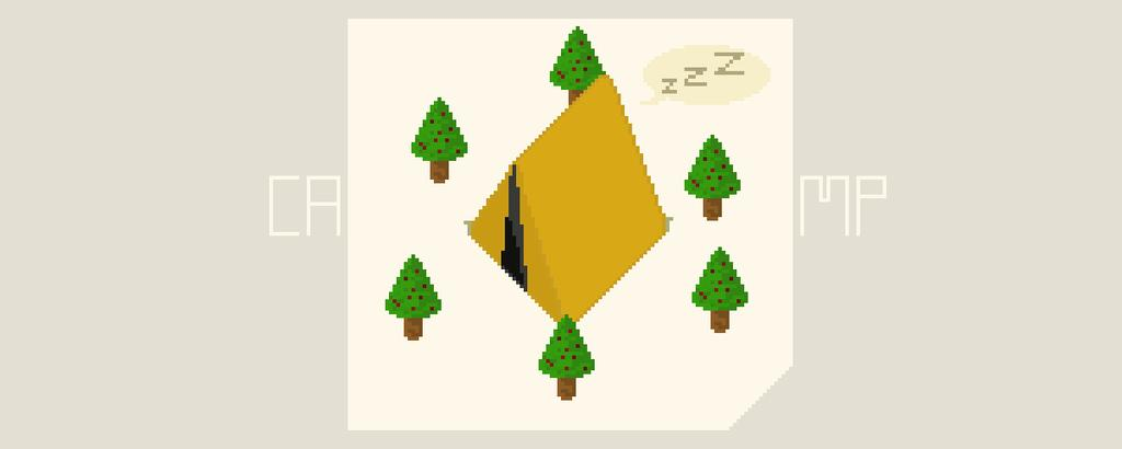 Camp #Pixel #pixelart #pixelartist #art #camping #woods #sleeppic.twitter.com/3oYVjma1b0
