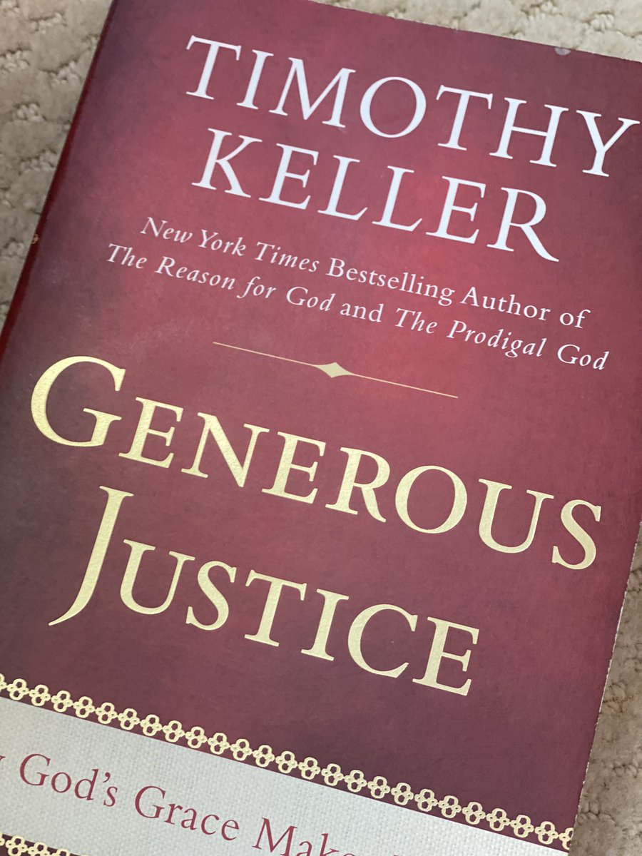This book proved helpful for me this week as I wrestled with the doctrine of God's Justice as it relates to Micah 3:1-4.   What does Keller Say? Well, grab a copy or better yet come to church @AmissvilleBC tomorrow at 10:30AM or watch online at https://t.co/O1OIHTttjO 😀 https://t.co/LCwbgMn8r1