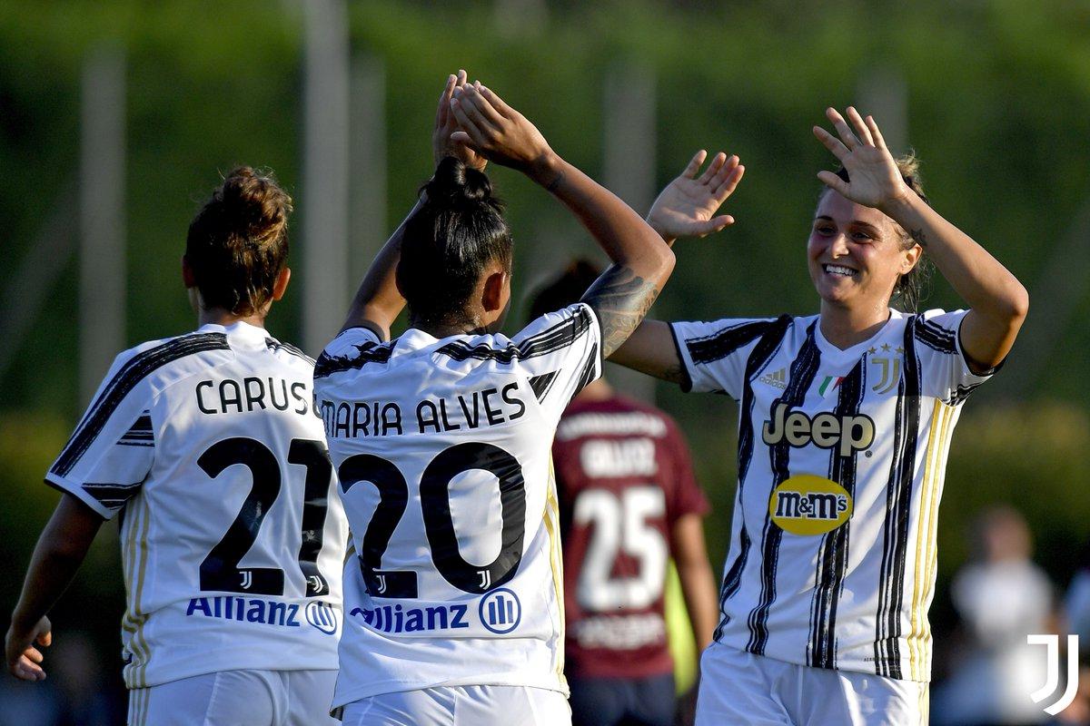 Bianconere sweep aside Servette 💪⚪️⚫️  📸 https://t.co/2uCseeFCnQ  #JuveServette #JuventusWomen https://t.co/xIW60vaz3Z