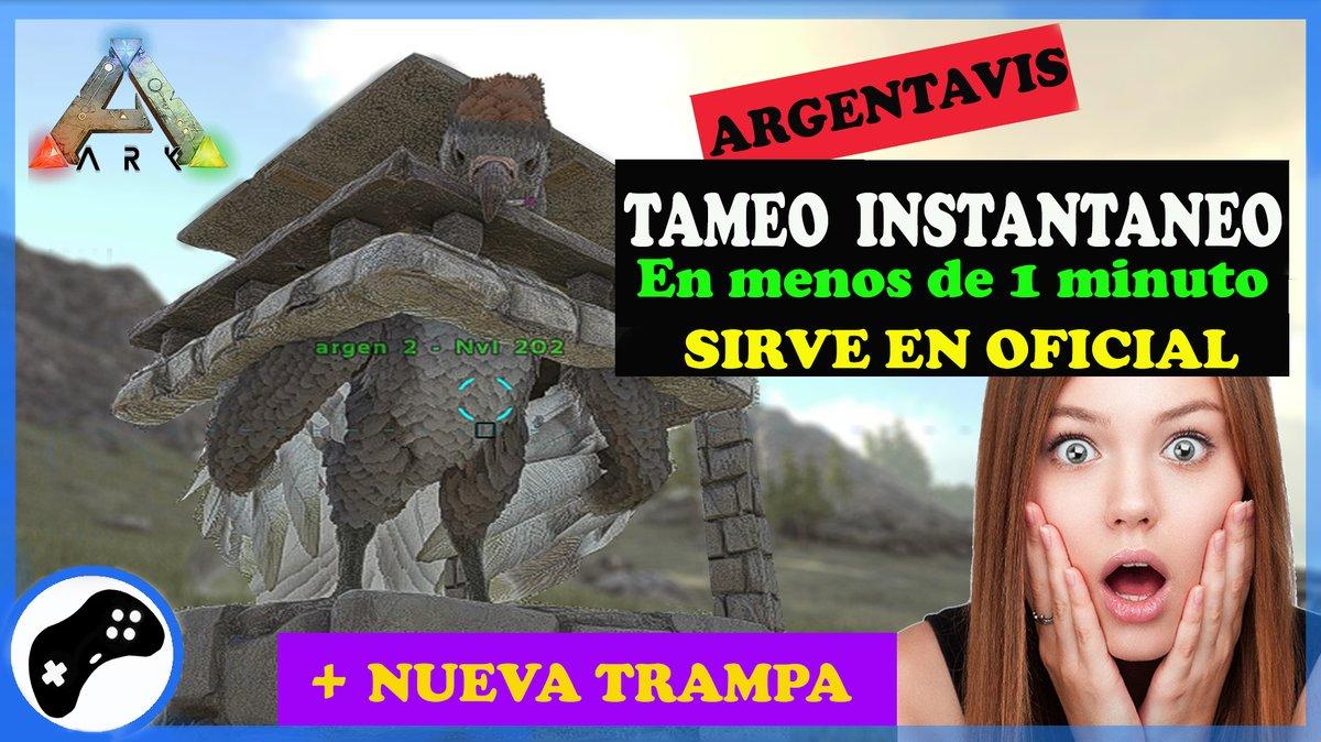 Tamea tu ARGENTAVIS de forma instantánea con esta guía, que tambien sirve en OFICIAL.  https://youtu.be/fruoqSZzpis  #FelizSabado #ARK #ARKSurvivalEvolved #ARKmobile #ps4 #xbox #gamer #gaming #gaminglife #gamers #supervivenciaaldesnudopic.twitter.com/avCrbVBbjl