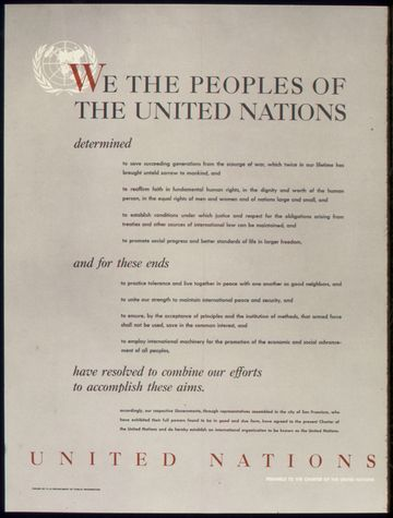 On this day in 1945, President Harry Truman signed the United Nations Charter.pic.twitter.com/WarQbKKZPS