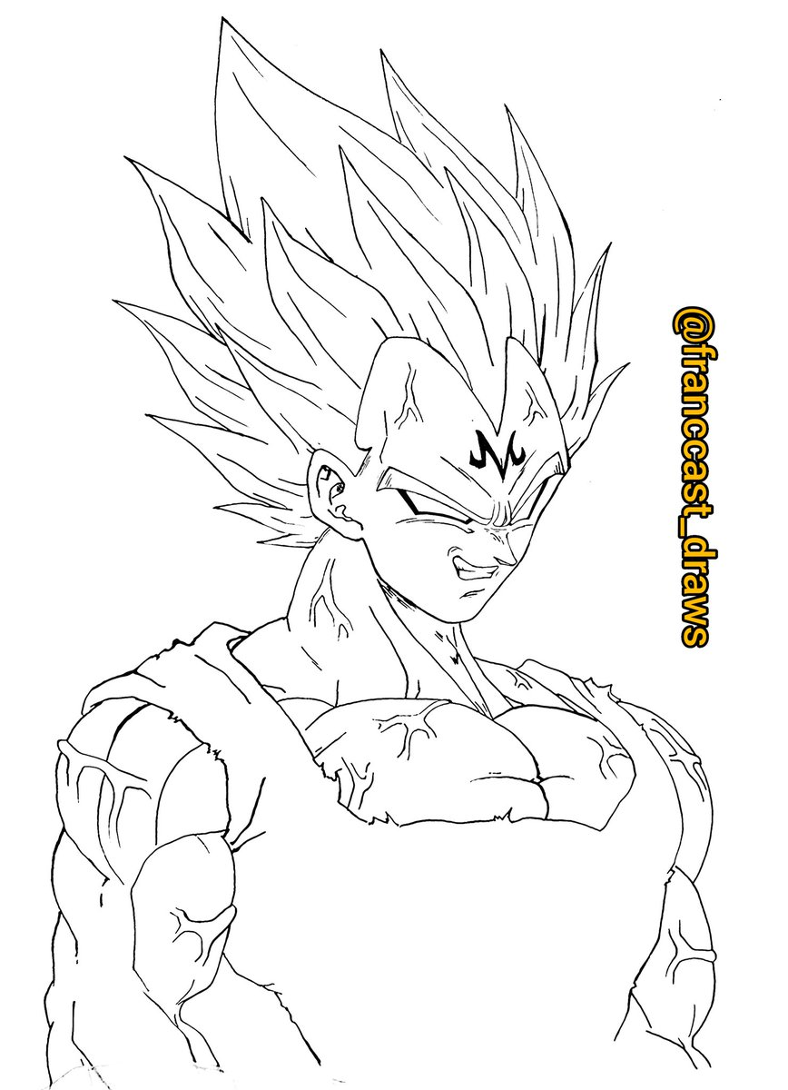 Sketch de Majin vegeta  Despues lo pintare . Dragon ball Z art #DragonBall #animation #masakisato #yuyatakahashi #tadayoshiyamamuro #anime90s #DragonBallZ #DragonBallGT #DragonBallKai #Anime #Manga #DBZ #Goku #Vegeta #DragonBallSuper  #Kamehameha #Gohan  #Brolypic.twitter.com/fbCqsK8r7h