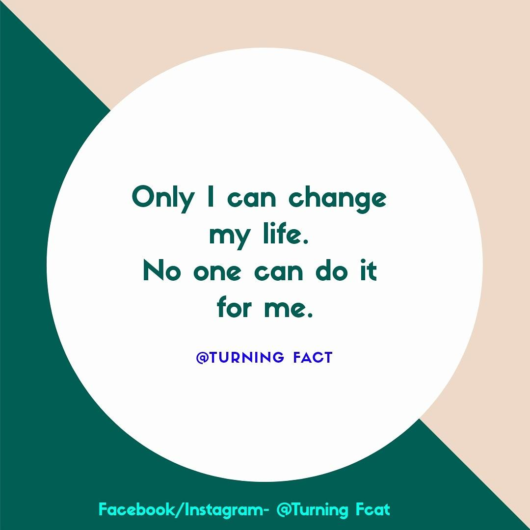 Only I can change my life. No one can do it for me. @FactTurning @FactTurning @FactTurning @FactTurning @FactTurning @FactTurning #turningfact #MotivationalQuotes #motivation #FriendsForever #Hardwork #SundayMotivation #TuesdayThoughts #BrightInspiresUs #motivation #Twitter
