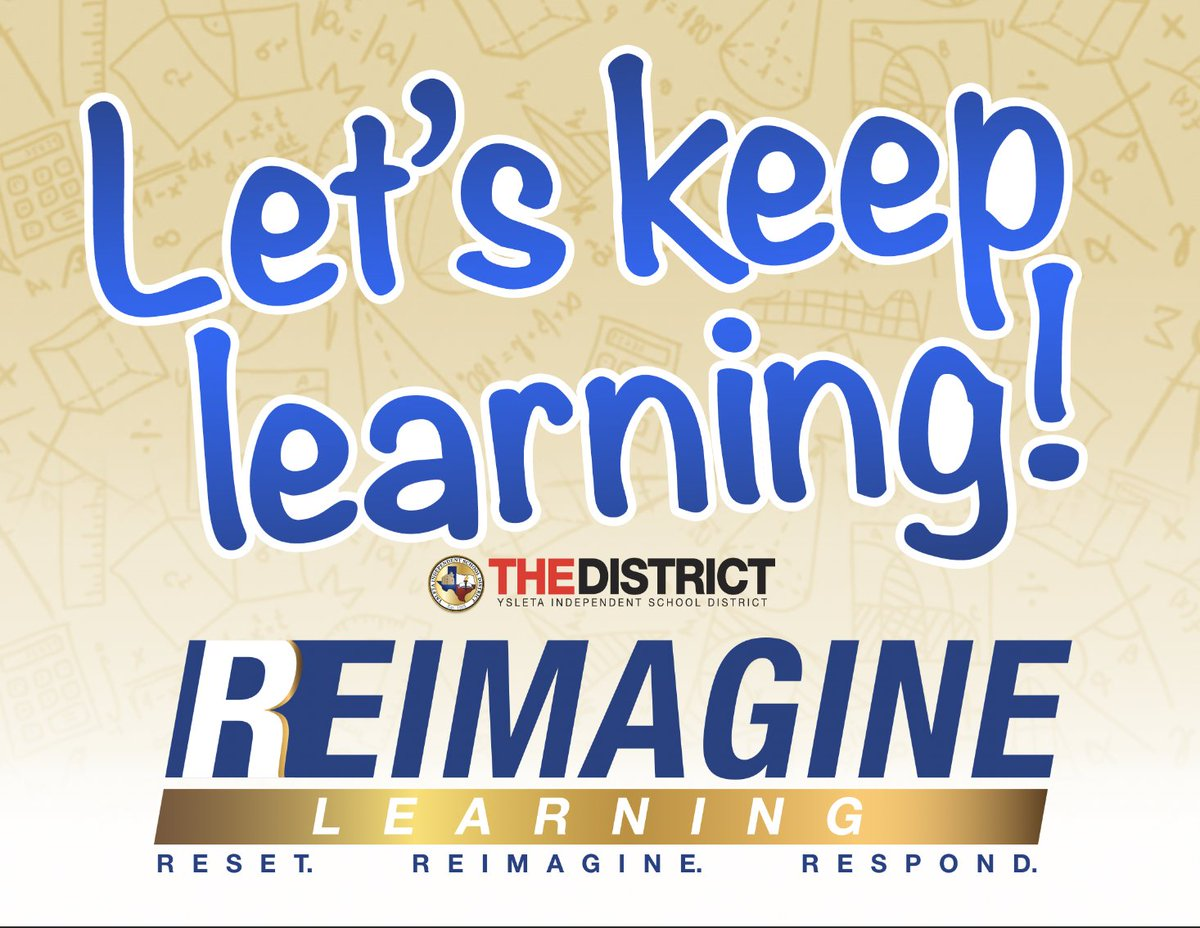 Ready to Reimagine learning Eagles?🤩 It's time to KEEP LEARNING🌟#THEDISTRICT