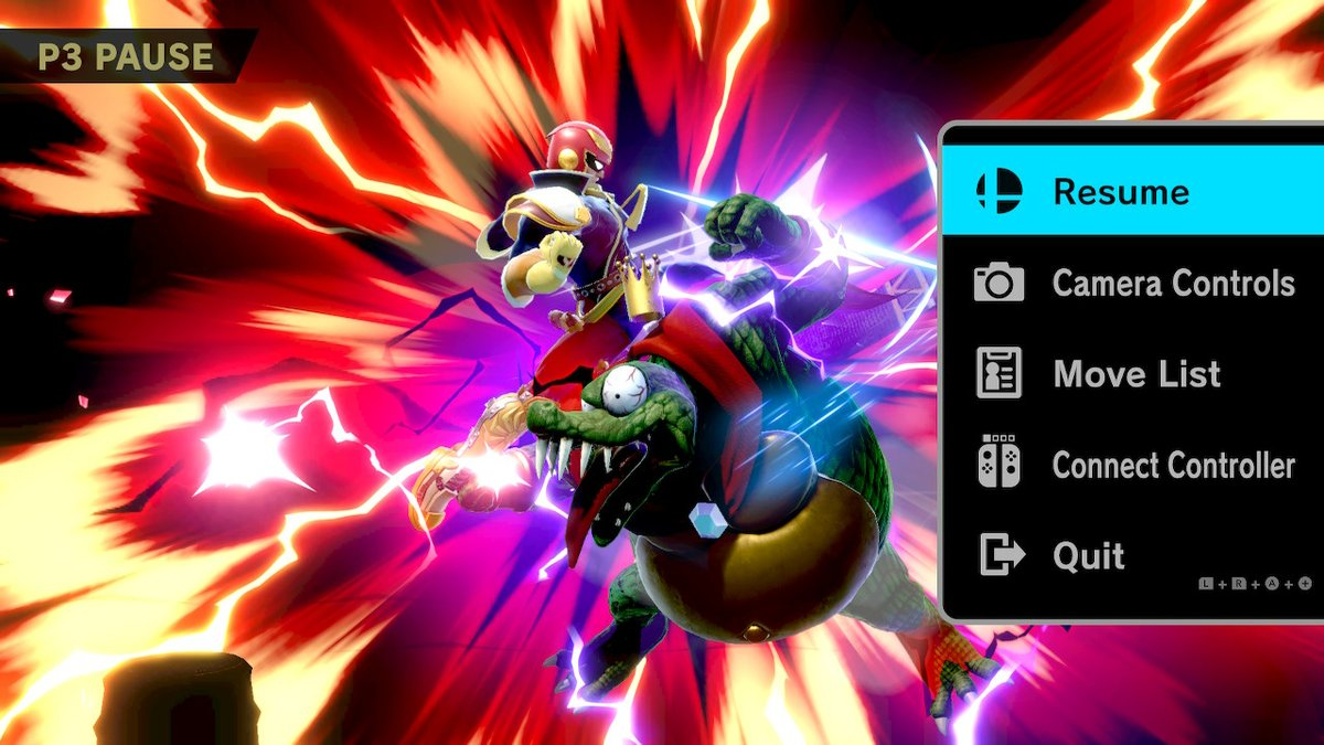The Knee of Justice #SmashBros #SmashBrosUltimate #NintendoSwitchpic.twitter.com/LteegkYvTk