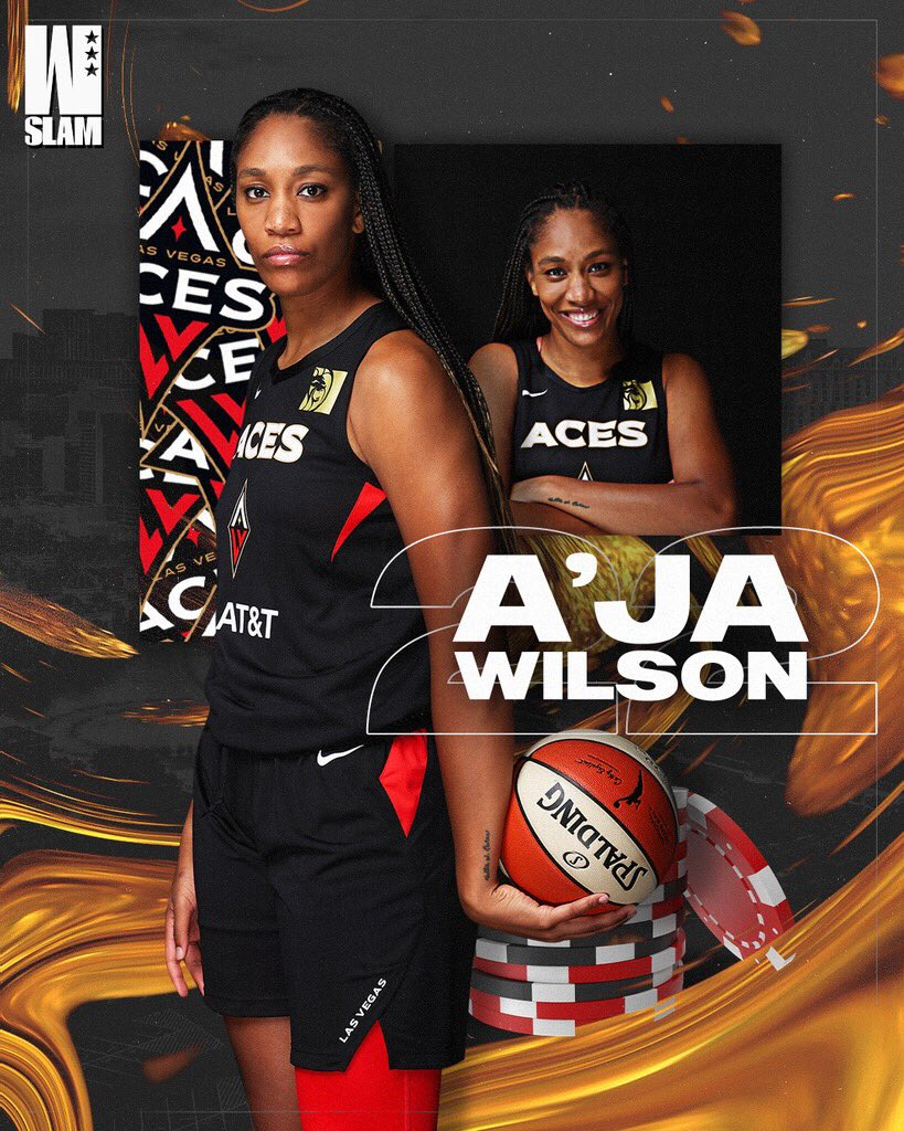 From SC to LV 👑 Happy g day, @_ajawilson22
