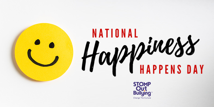 Spread some #happiness today, it's known to be contagious! #HappinessHappensDay #KindVibes https://t.co/m3lM1Y0cEy