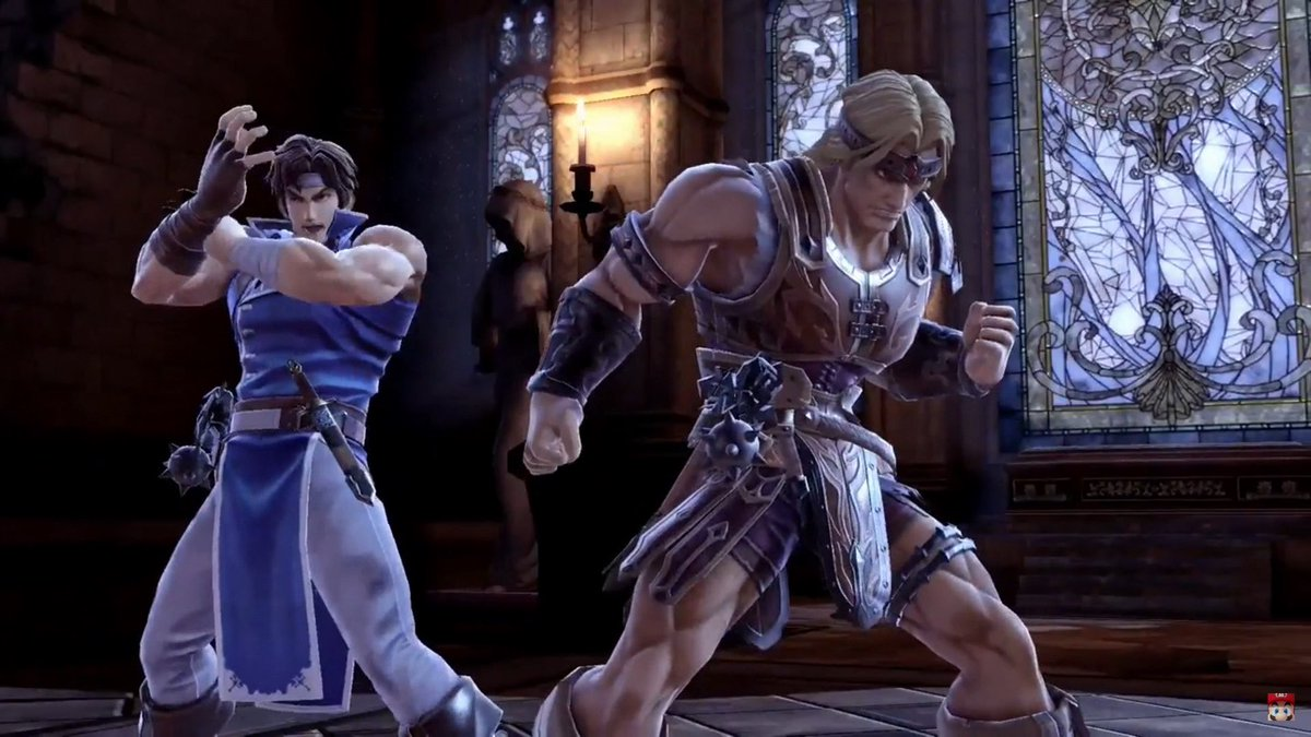 And Simon Belmont and Richter Belmont from Castlevania joined #SmashBrosUltimate... pic.twitter.com/keNut3RU3Z