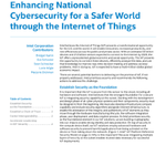 Image for the Tweet beginning: Enhancing National #Cybersecurity with the
