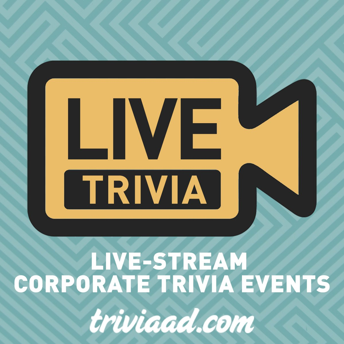 We're here to host your corporate or private virtual #trivia event. For more information, reach out to info@triviaad.com! #VirtualEvents #OnlineEvents #Zoom #VirtualTeamBuilding #TeamBuilding #VirtualHappyHour #SocialDistancing https://t.co/QOY4KSXmrF