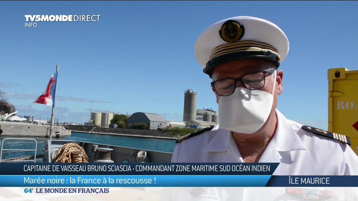 C'est depuis l'île de la Réunion que la France envoie de l'aide à l'Île Maurice, pour pomper les hydrocarbures qui s'échappent d'un navire au large de l'île. Notre correspondante sur place, Anne Bellens nous en parle. https://t.co/gwMIiLqcwk