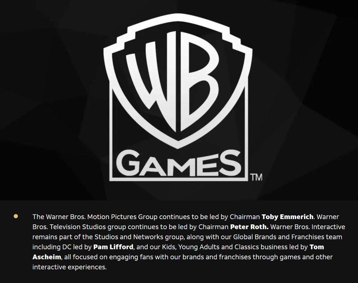 شركة Warner Media ترسل إيميلات لجميع موظفي @wbgames تؤكد فيها أنها لا تفكر في بيع فرق التطوير للشركات اخرى في الوقت الحالي. https://t.co/3lMYJiJ6wW