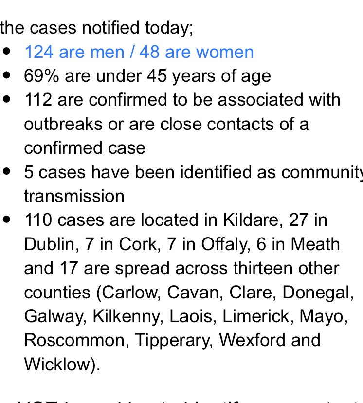 110 new Covid cases have been reported in Kildare https://t.co/sWw1GaM3Mo