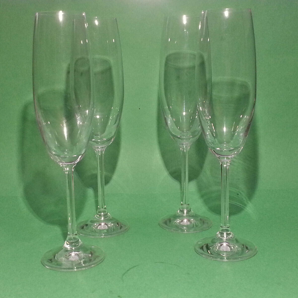 "Sale $26.95 https://ebay.to/2Np6LNW  #crystal #Champagne #flute 8 oz 9"" tall, Set of 4 pic.twitter.com/38WfYFcptR"