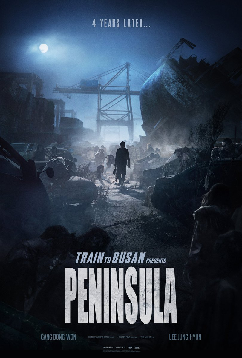 Movie: 'Peninsula' (2020) Directed by Yeon Sang-ho Written by Park Joo-Suk & Yeon Sang-ho  Rating: 5/10  #PENINSULA  #movietwit pic.twitter.com/qKjw9IYnGP