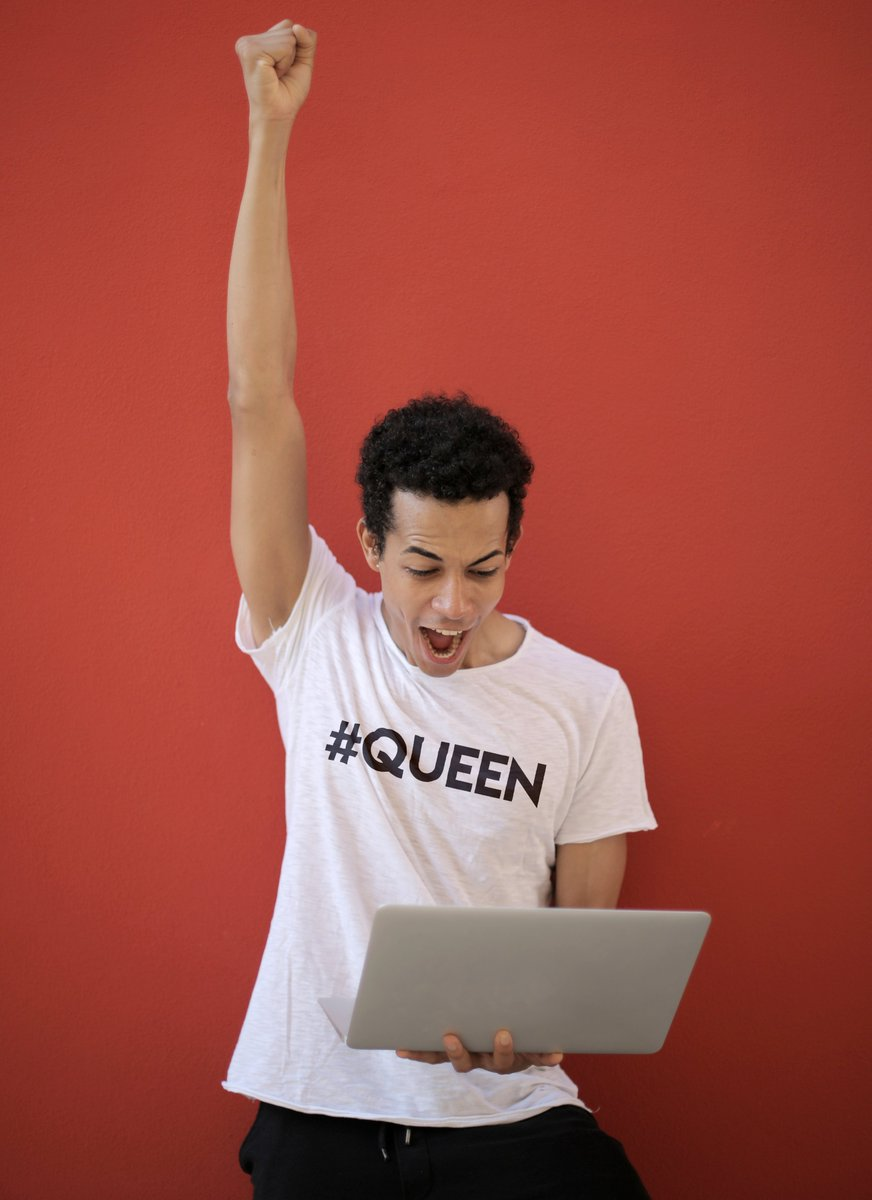 Looking to jazz up your next office Zoom meeting? We've got a t-shirt for that!  Who said WFH has to be boring?  Available now, exclusive to Much Gay! https://bit.ly/3ilixmX   #MuchGay #zoommeeting #Queen #Queens #QueenBee #gaytshirts #gaystyle #gayfashionpic.twitter.com/1PvEJjxCrx