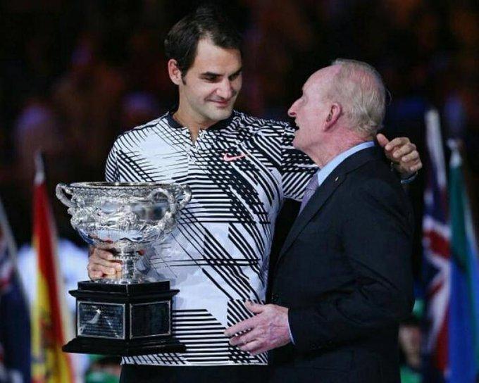 Rod Laver wishes Roger Federer happy birthday, hopes Swiss wins Grand Slam in 2021