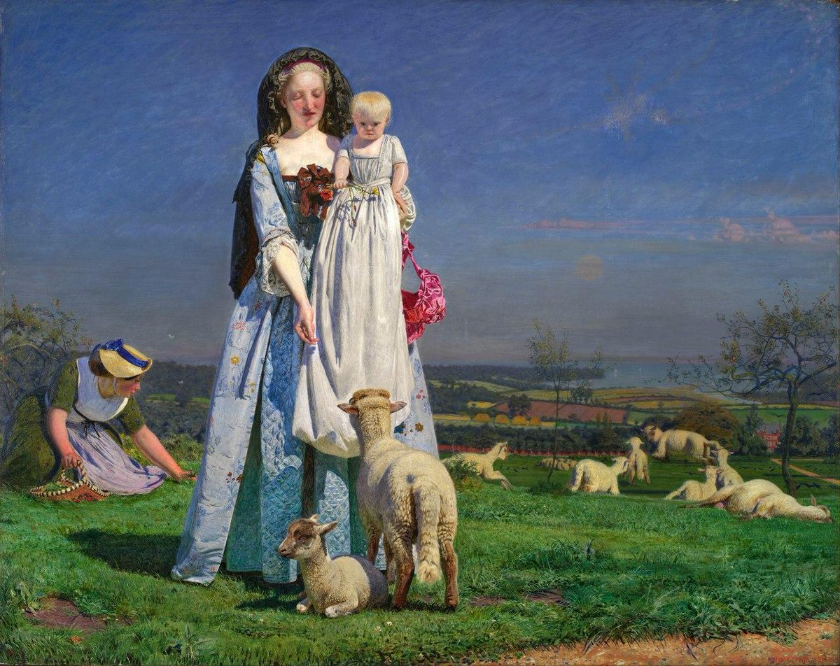 Ford Madox Brown The Pretty Baa-Lambs,1851