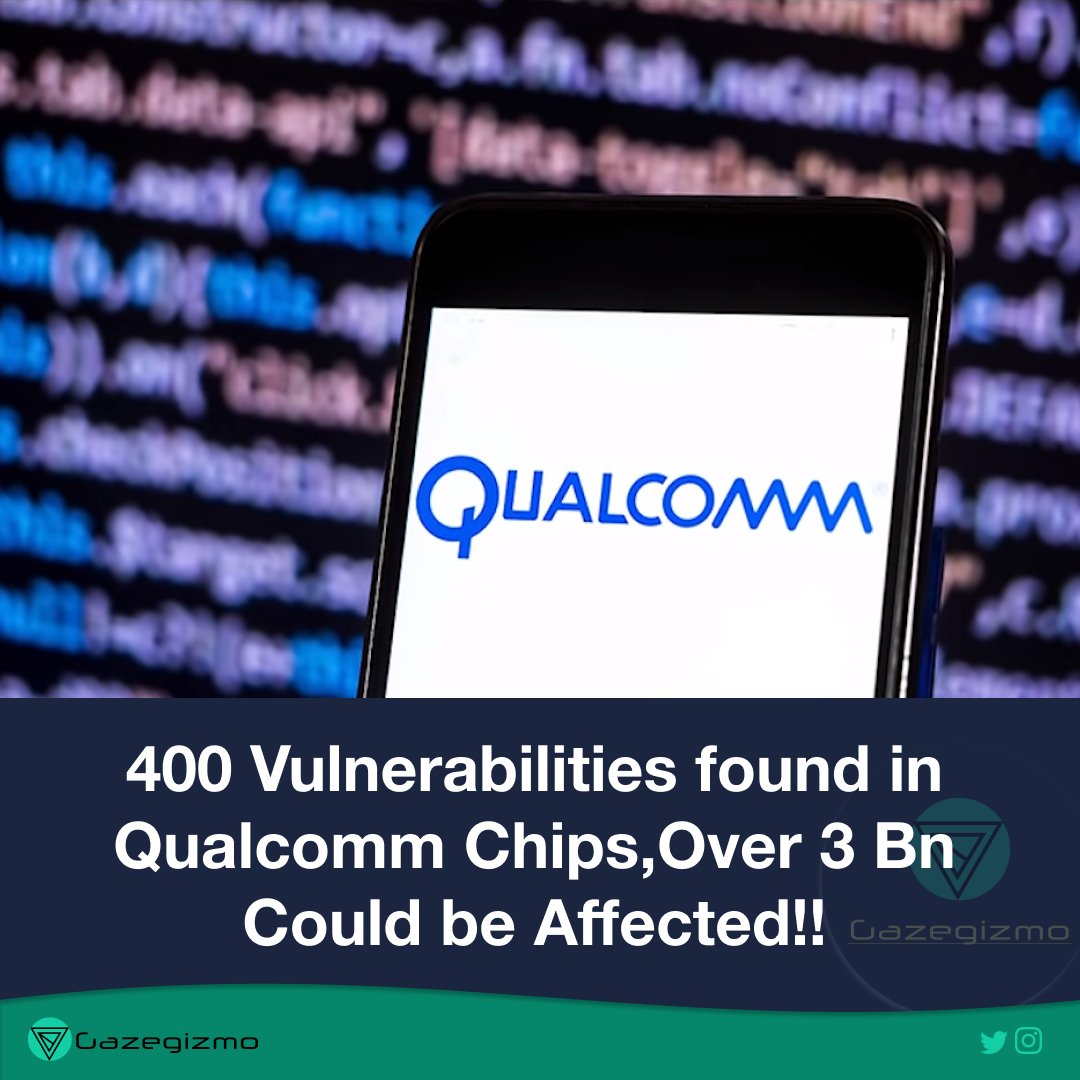 Are you guys Scared?@qualcomm_in @Qualcomm  #Qualcomm #Phone #Chips #Processors #Technews #Techblog #Techblogger #News #new #Hackers #Hacking #hack #AmazonSpecialsOnePlusNord5Gpic.twitter.com/WkC0Tchona